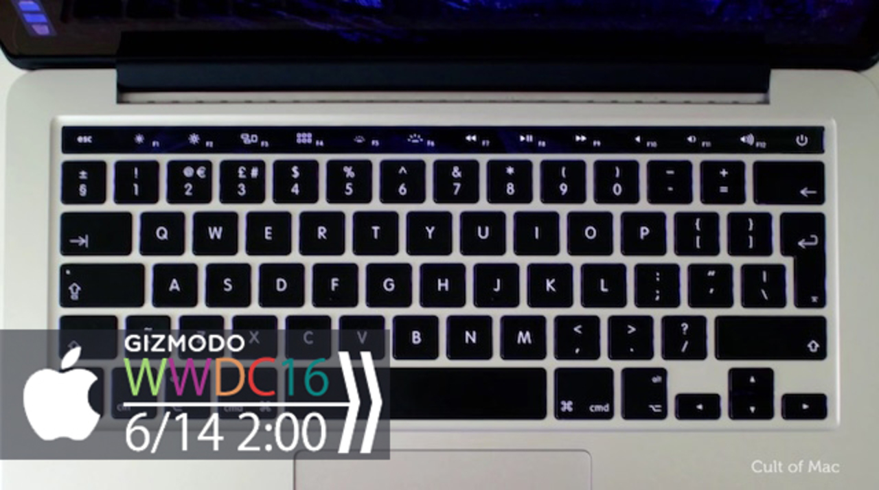 次期MacBook Proの有機ELタッチバー、実現したらこんな感じ?