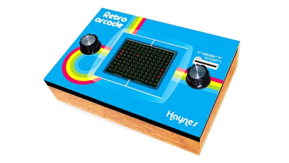80年代リバイバル。クラシックアーケードゲームの筐体を自作できるキット