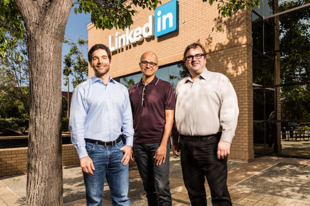 MicrosoftがLinkedInを買収。MS史上最大の262億ドルで合意