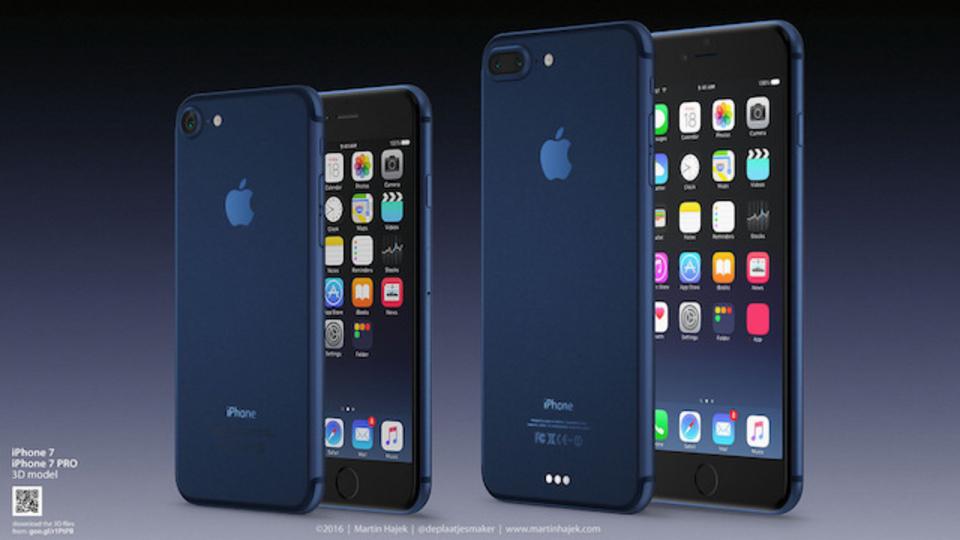 即買いしたい。 シックな「iPhone 7 ディープブルー」のコンセプトが登場