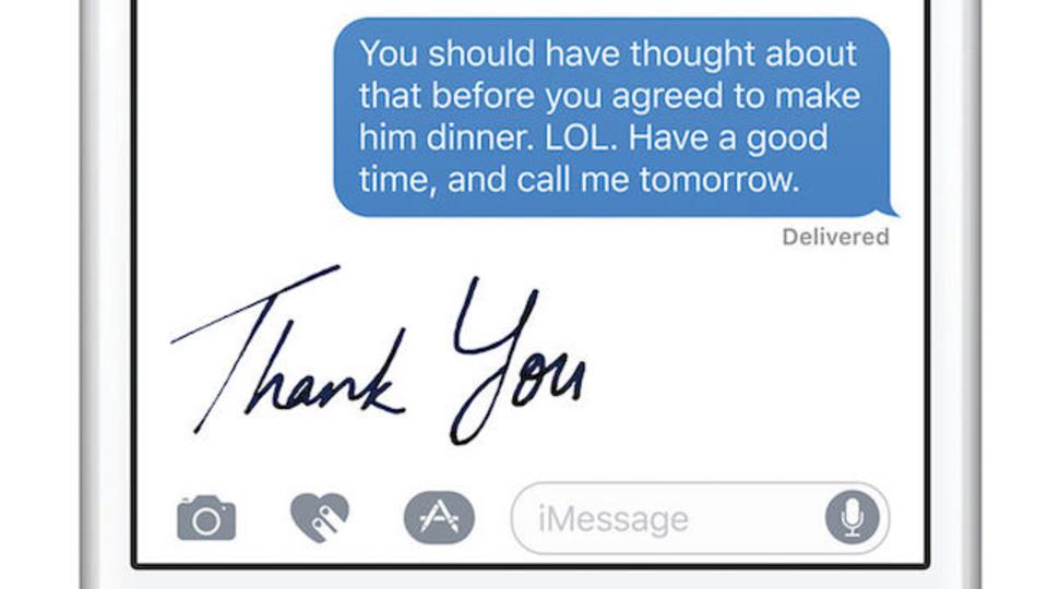iOS 10の「iMessage」、何が変わるか画像でどうぞ!