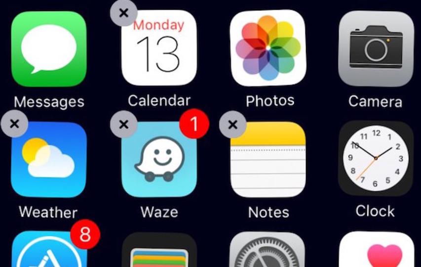 ようやく! iOS 10 ベータ版で純正アプリが削除可能に