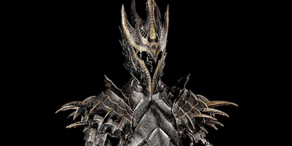 美しき悪の艶めき。「指輪物語」サウロンの第一紀の鎧