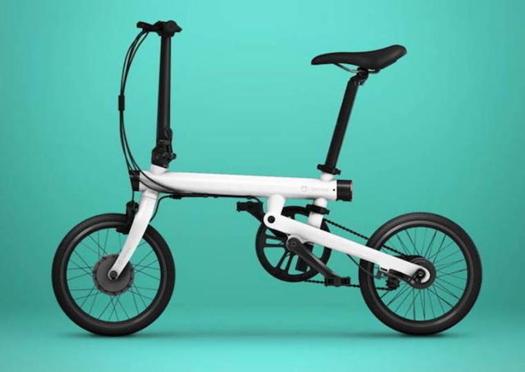 激安はスマホだけじゃない。Xiaomiのスマート機能がついた折り畳み電動アシスト自転車「Mi QiCYCLE」