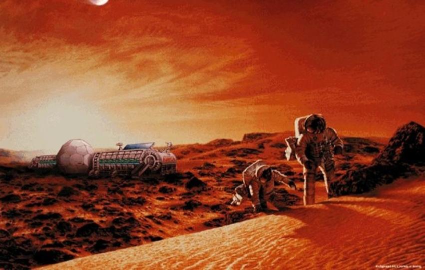 そろそろ「原産地:火星」の野菜が食べれるかも!?