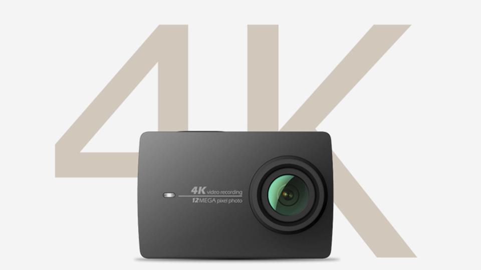 電子式だけど手ぶれ補正機能を載せてきた4Kアクションカム、Xiaomiの「YI 4K Action Camera 2」そろそろ日本にこないかな