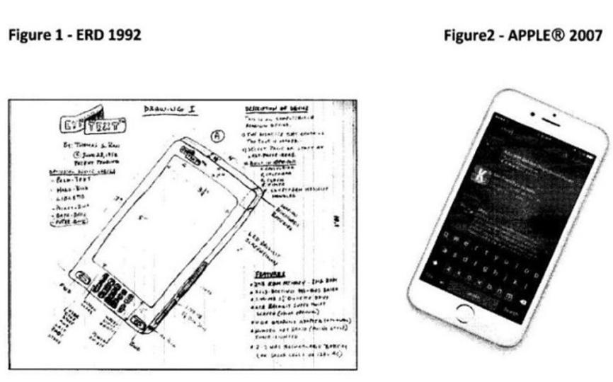 「iPhoneのアイデアを盗まれた」フロリダのオジサン、Appleを1兆円で訴える