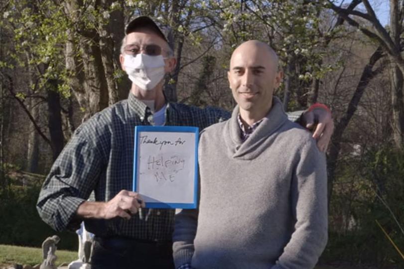 癌で失ったあごを3Dプリント技術によって取り戻した男性