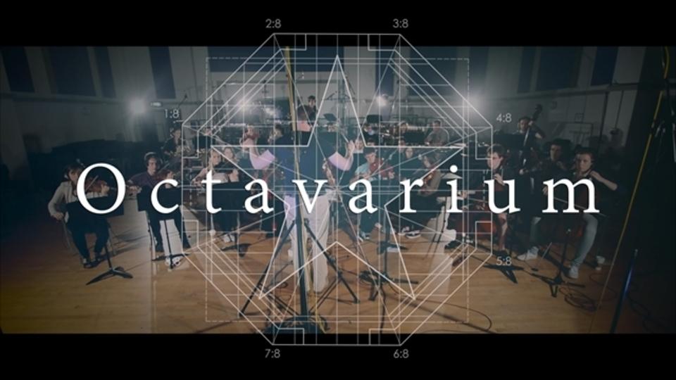 ドリーム・シアターの「Octavarium」を37人のフルバンド+フルオーケストラで演奏