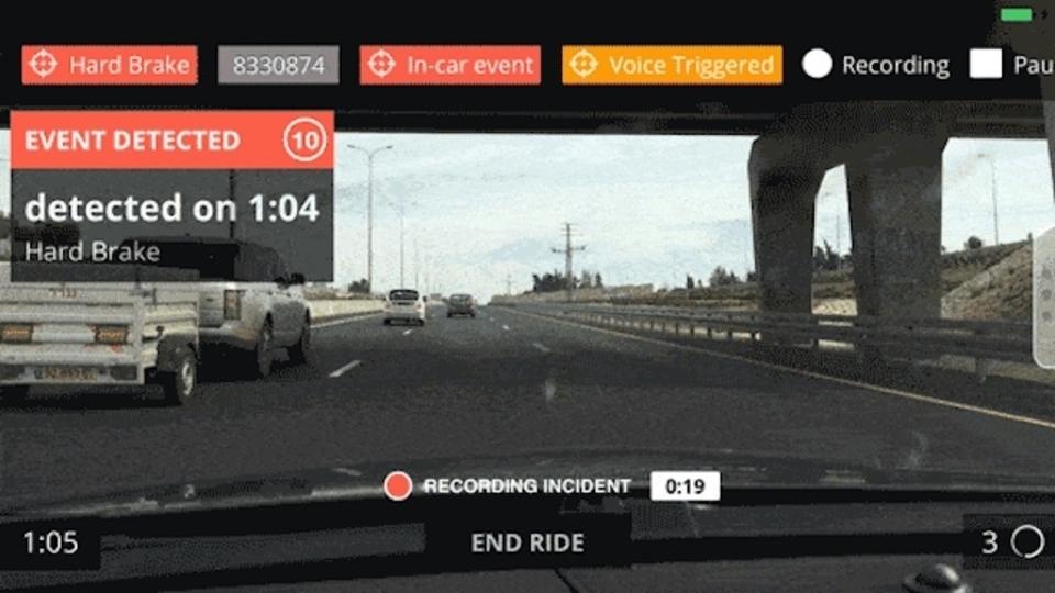 危険走行車のナンバーを撮影、データベース化してユーザーに警告してくれるアプリ