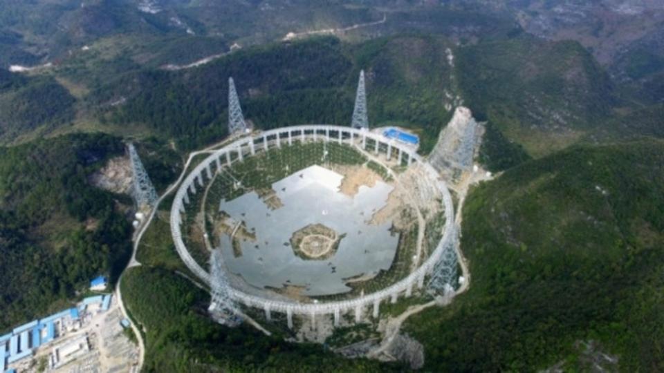 宇宙人探そうぜ。中国で世界最大の電波望遠鏡が完成