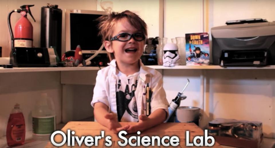 竜巻のこと教えてあげるよ! オリバーくん(5歳)の科学のお部屋