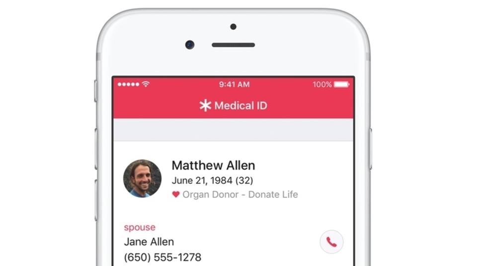 この秋からは、iPhoneで臓器ドナー登録できるように