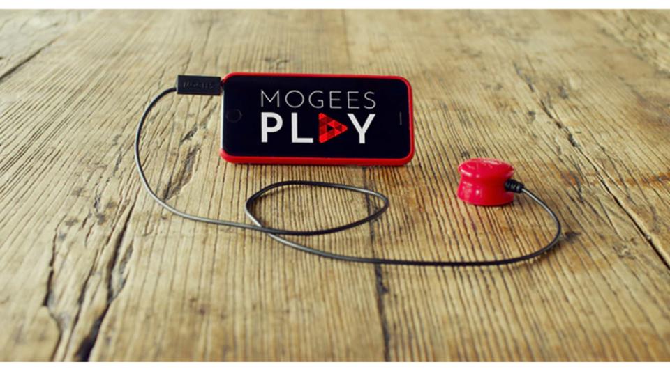 Mogeesを音楽ゲーム化する「Mogees Play」が資金を募集中