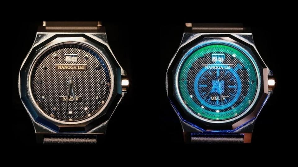 ニセモノを防げ。高級時計にホログラムを浮かび上がらせる特殊技術