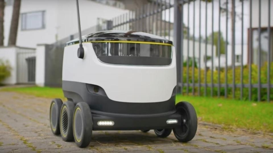 自動運転ロボによる配達サービスがヨーロッパでついに開始へ