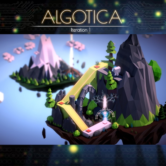コーディングで操作する3Dパズルゲーム「アルゴティカ」が支援を募集中