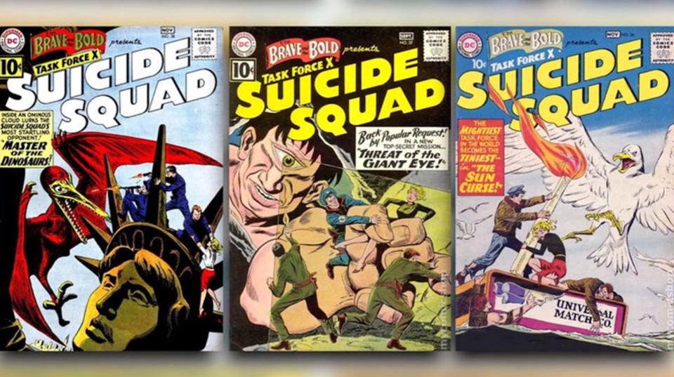 驚くほど長い「スーサイド・スクワッド」の歴史をみてみよう