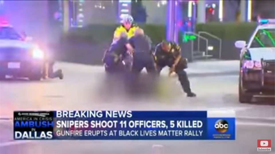米ダラス銃撃で警察が容疑者をロボットで爆殺