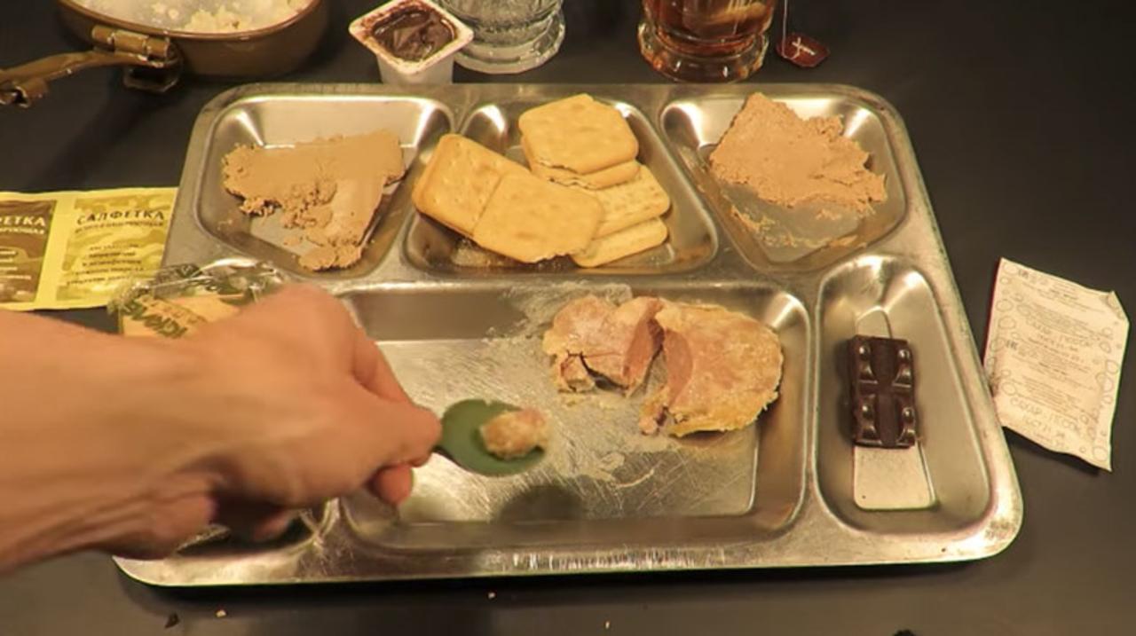 ロシア最強の特殊部隊スペツナズの食事