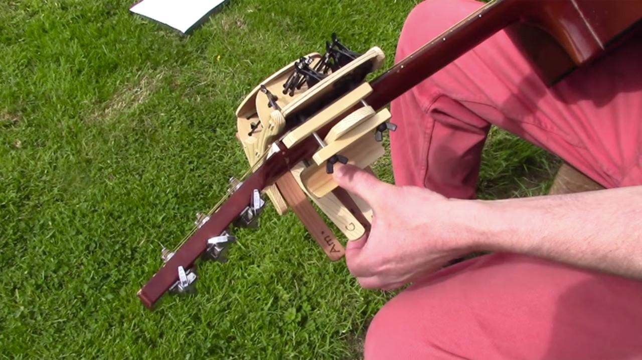 コードを知らなくてもギターが弾ける、お助けアイテム「コーデリア」