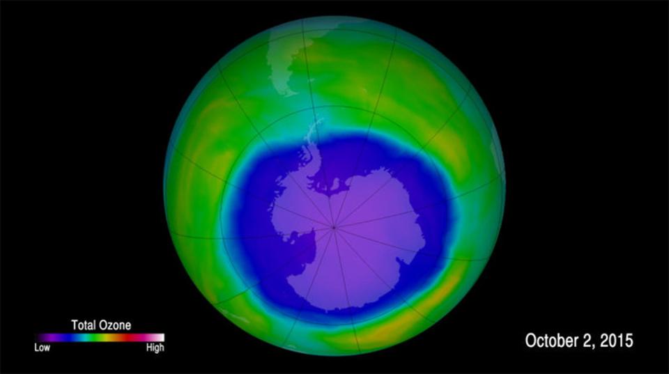環境保護の成果が! 破壊されたオゾン層が元通りになりそう…