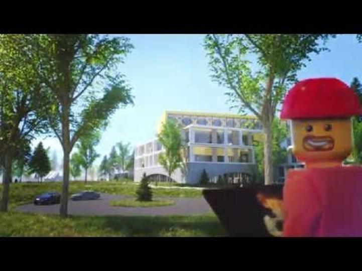 LEGO新社屋は、仕事も遊びも楽しむキャンパス
