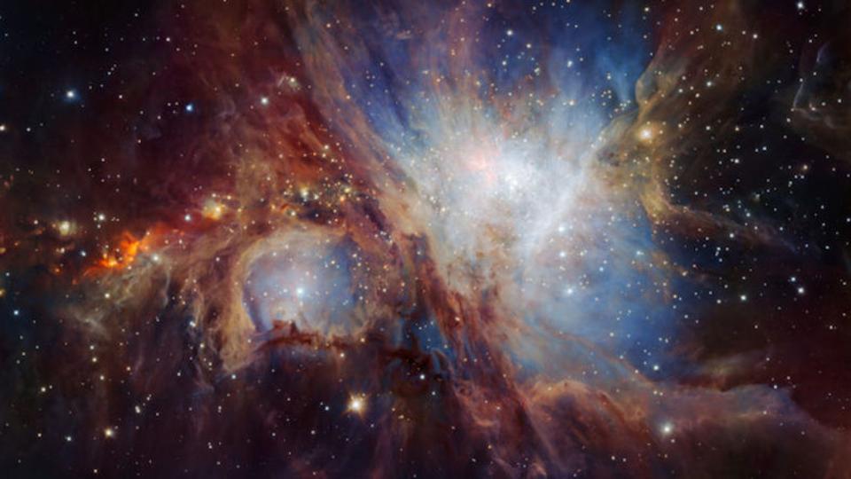 超大型望遠鏡、オリオン大星雲の史上最深部に迫る