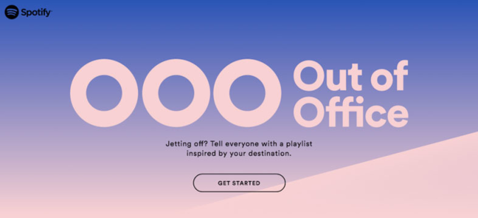 Spotifyの新機能「不在メールに音楽を!」