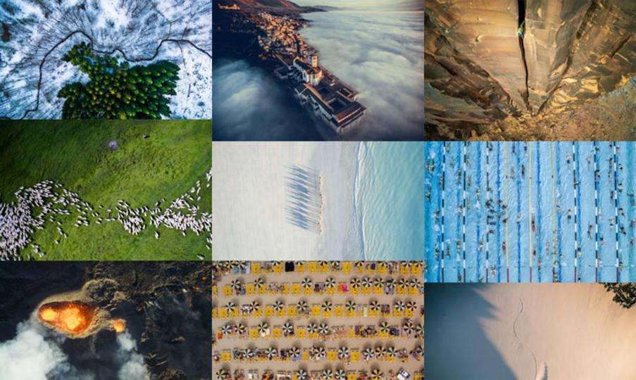 空撮ならでは! 国際ドローン写真コンテスト発表