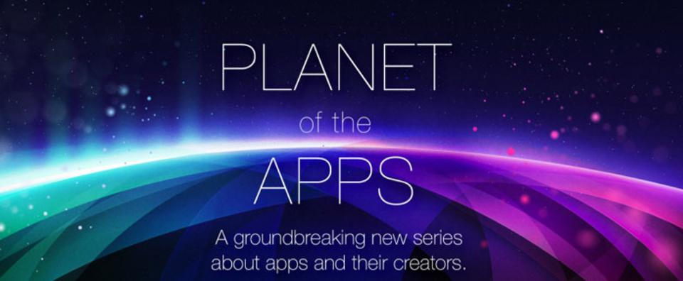 Apple初のオリジナルテレビ番組。タイトルは「アプリの惑星」