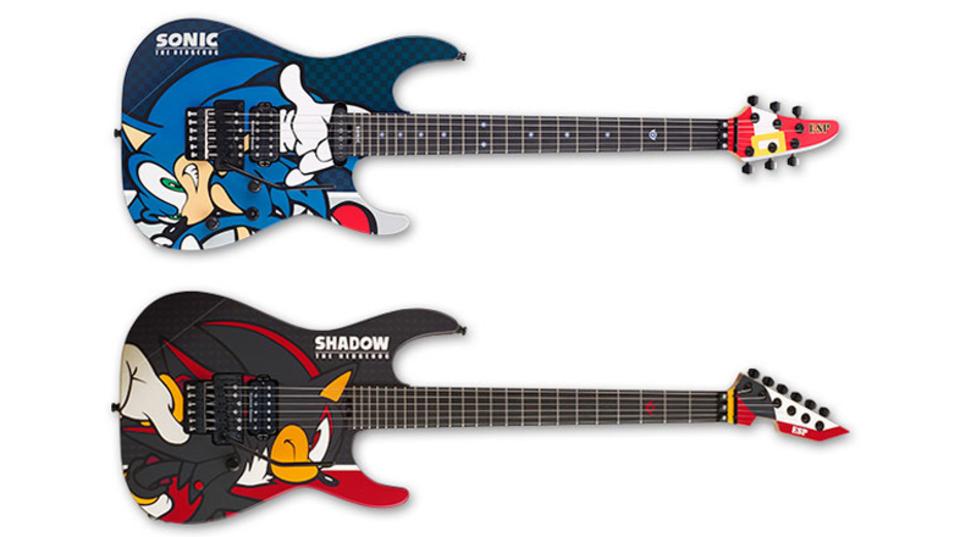 ソニック生誕25周年! ギターブランドのESPから記念モデルギターが登場