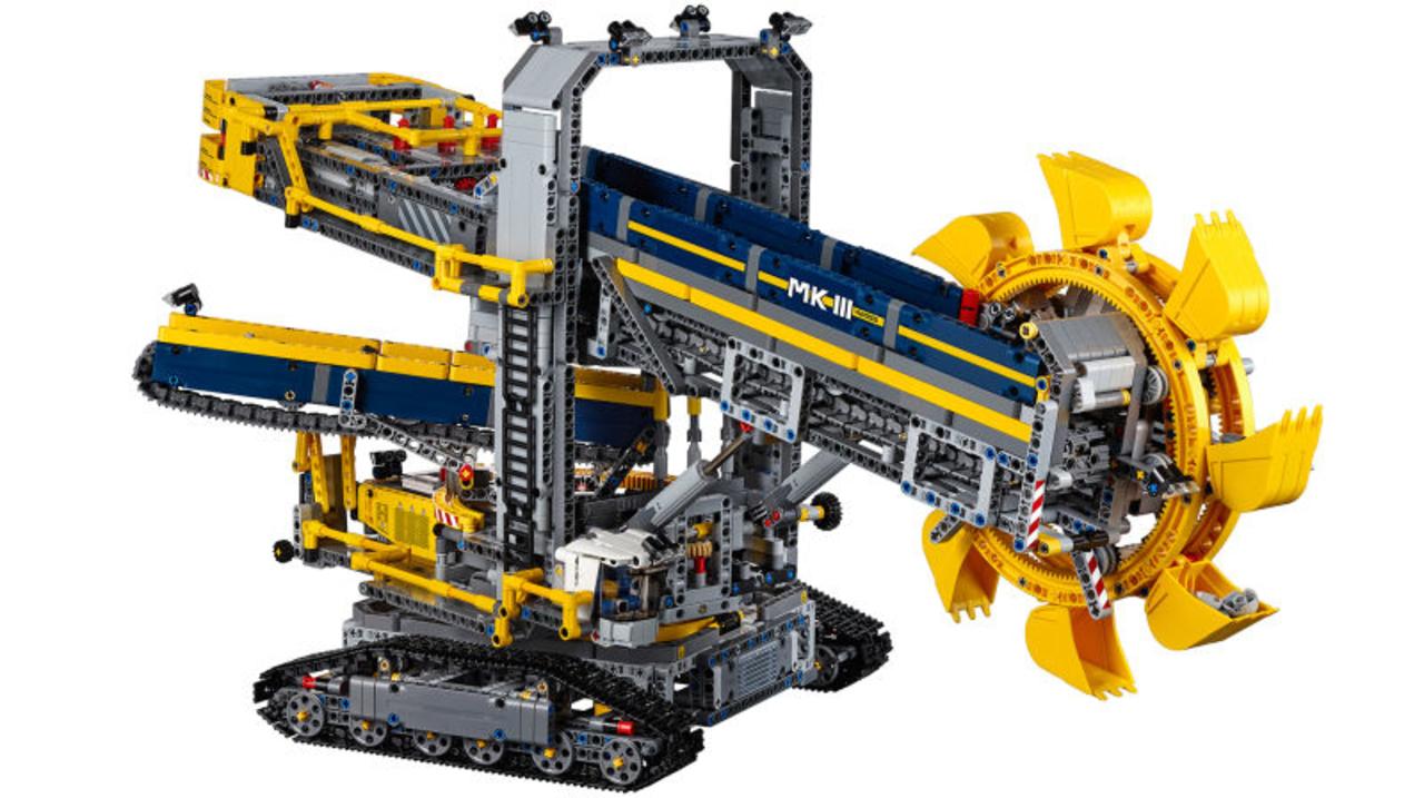 全3900ピース、長さ70cm越え。LEGO史上最大のテクニックセット「バケット掘削機」が凄まじい