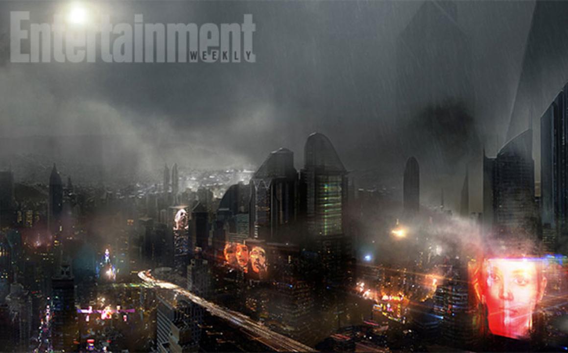 映画「ブレードランナー2」の近未来的ロサンゼルスのコンセプトアートが初公開