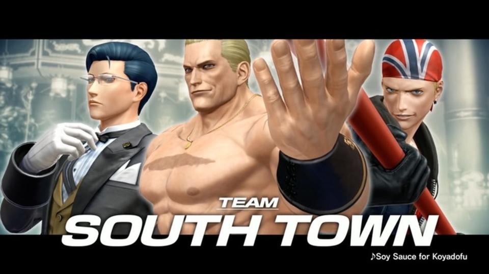 KOF XIV「サウスタウンチーム」が公開。レイジングストームの「重さ」を感じろ!