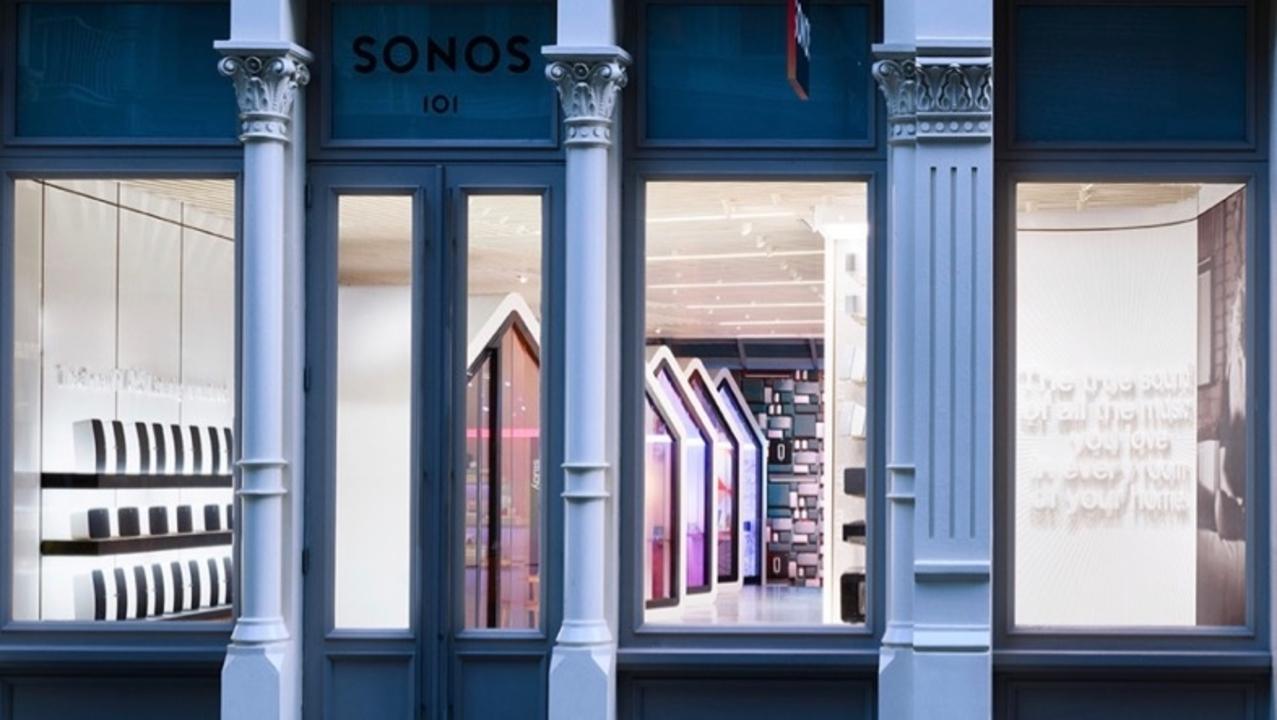NYのSonosのフラグシップ店がおしゃれ住宅を再現している理由