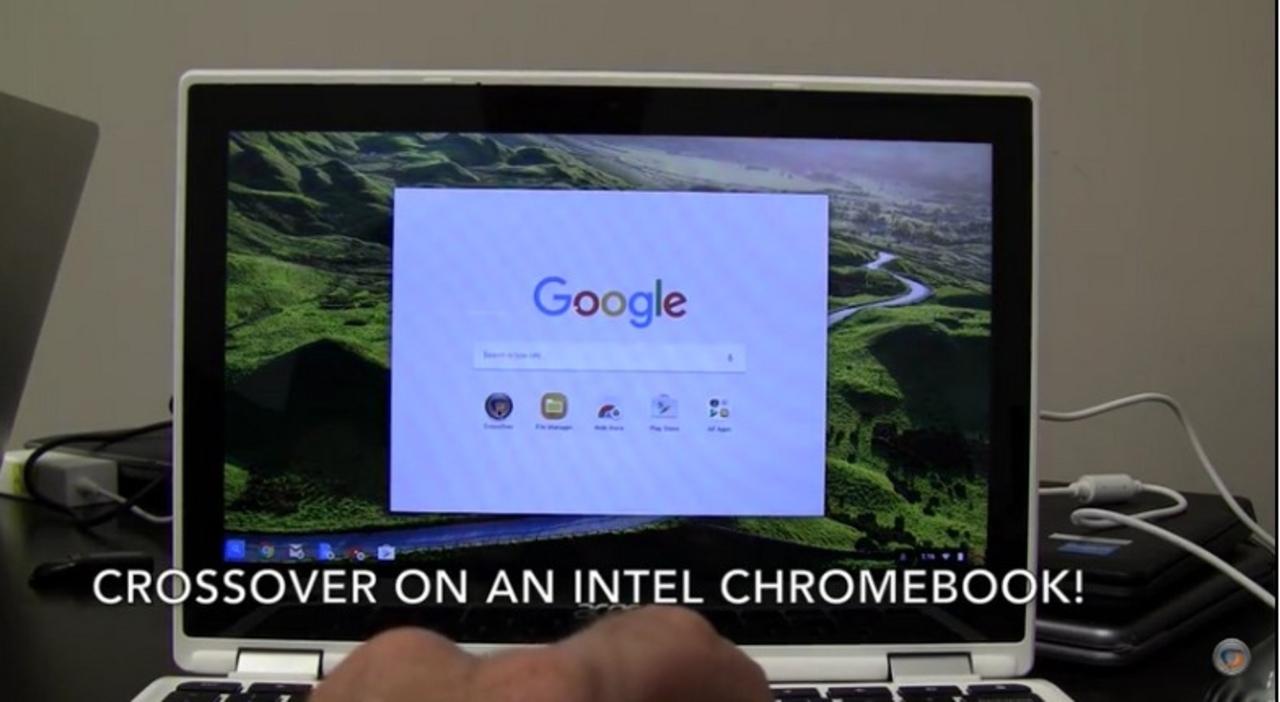 ついに牙城は崩された。ChromebookでWindowsを動かすことに成功
