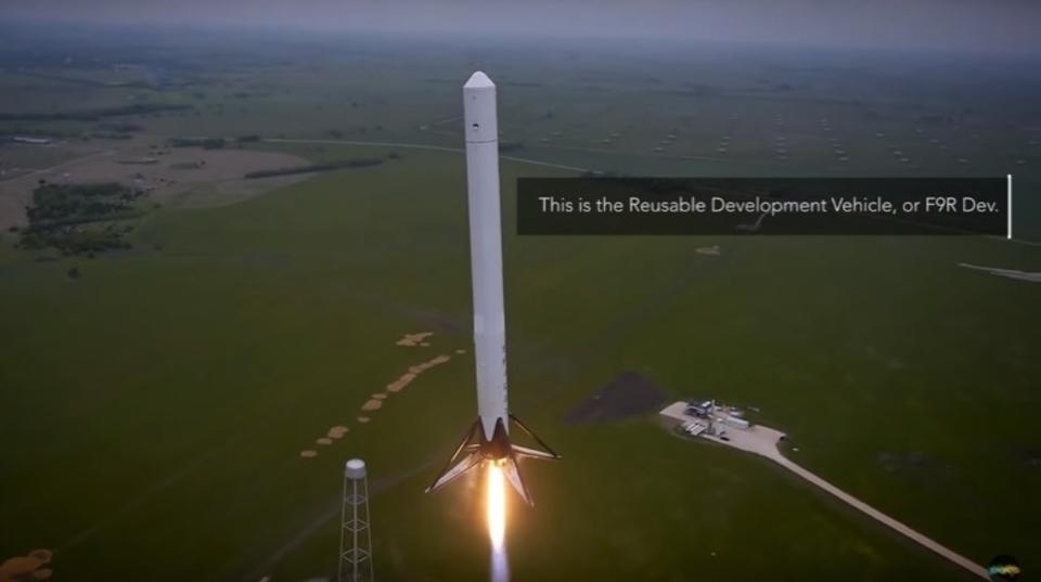 心の汗がとまりません。SpaceXの進歩をダイジェストで見せてくれるビデオ