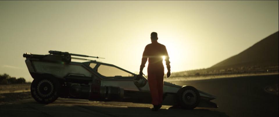 X-ウィング型のホットウィールがレーシングカーになった!