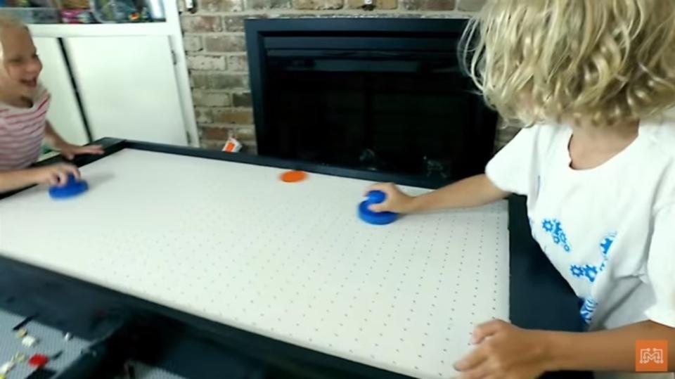 自宅でもできるDIY、エアホッケー・テーブルの作り方