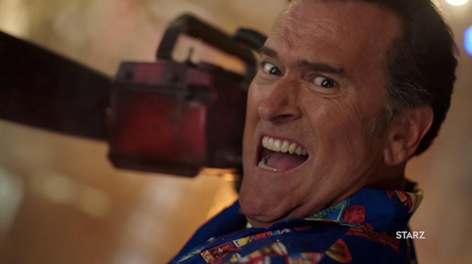 恐ろしく最高なドラマ「死霊のはらわた リターンズ」シーズン2の予告編