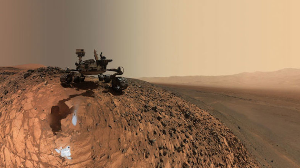 かわいいだけじゃないの。火星探査機キュリオシティ、レーザーを自発的に発射できるように