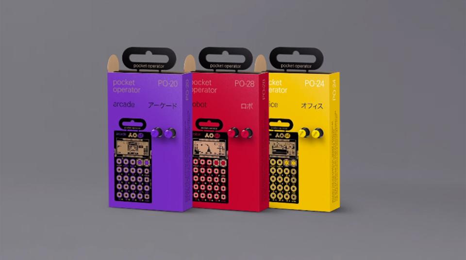 キュートでパワフルな「Pocket Operator」の新製品、PO-20シリーズがついに発売