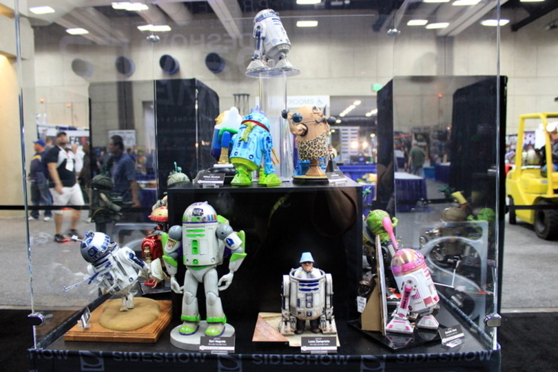 サンディエゴ・コミコンで展示された斬新なカスタムR2-D2フィギュアたち