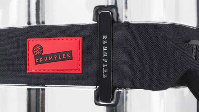 Vis-à-Vis透明スーツケースのストラップベルト拡大