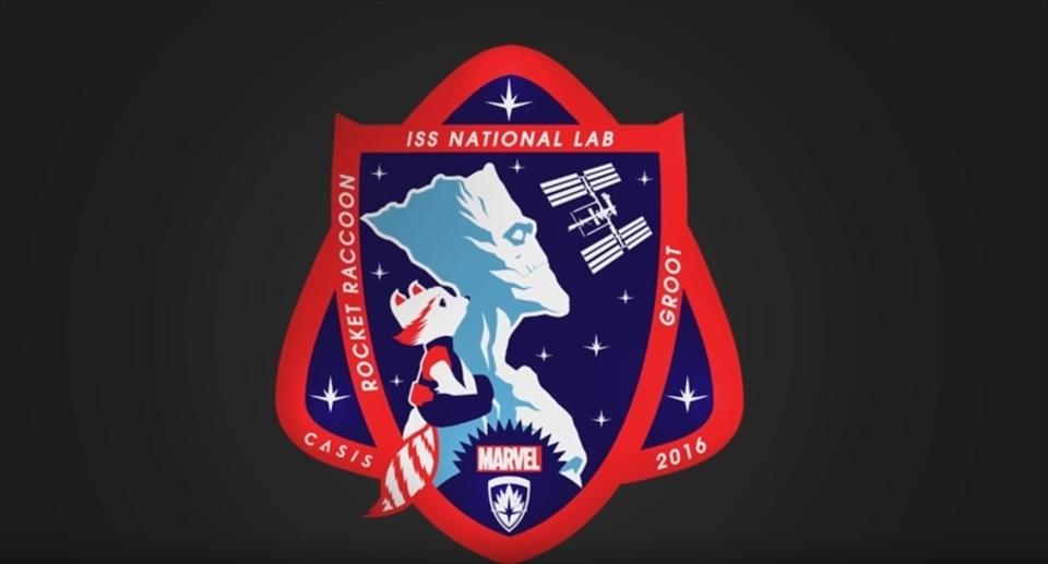 NASAが「ガーディアンズ・オブ・ギャラクシー」のキャラをミッション・ワッペンに採用!