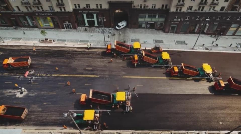 日本と全然違うよ。ロシアの道路整備の様子がすごい