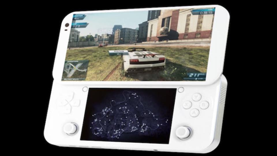 PCゲームもスマホゲームもOK。スライド式の携帯ゲーム機型PCが登場