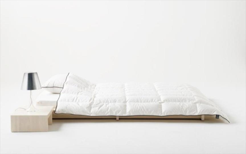 日本の夏に。特殊構造で寝返りもうちやすい肌掛け布団「マザーグース肌掛け」