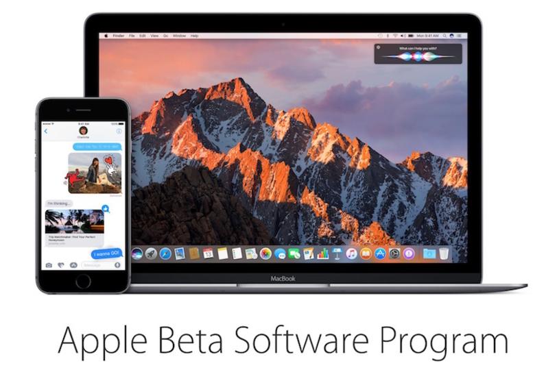無料です。正式リリース前の「iOS 10」と「macOS Sierra」をお試しできるベータ版はじまりました